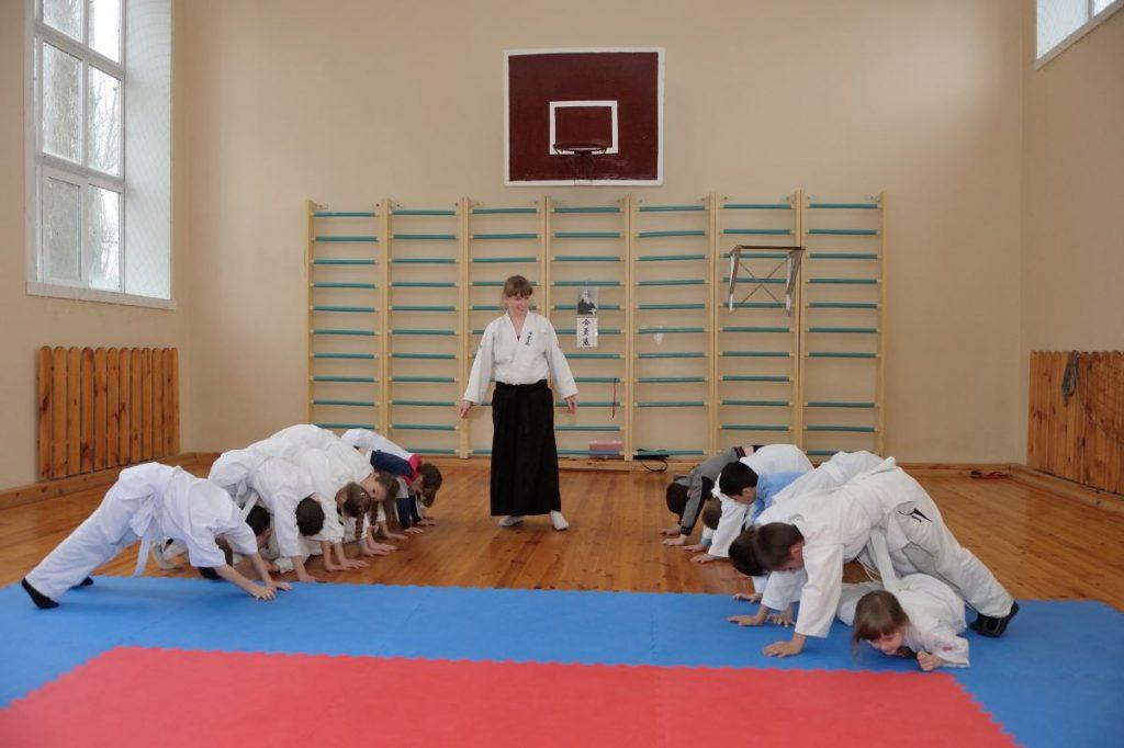 айкидо херсон, занятия айкидо в Херсоне, боевые искусства херсон
