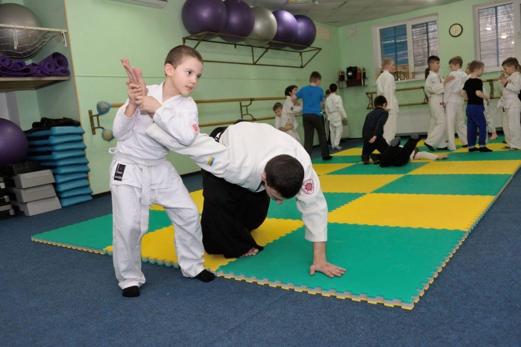 айкидо для детей, спортивные секции для детей херсон, таврический айкидо херсон
