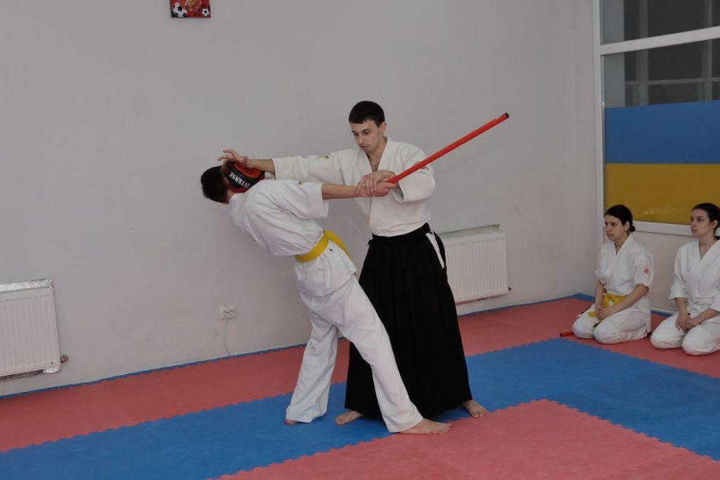 айкидо в херсоне, боевые искусства херсон, айкидо приемы