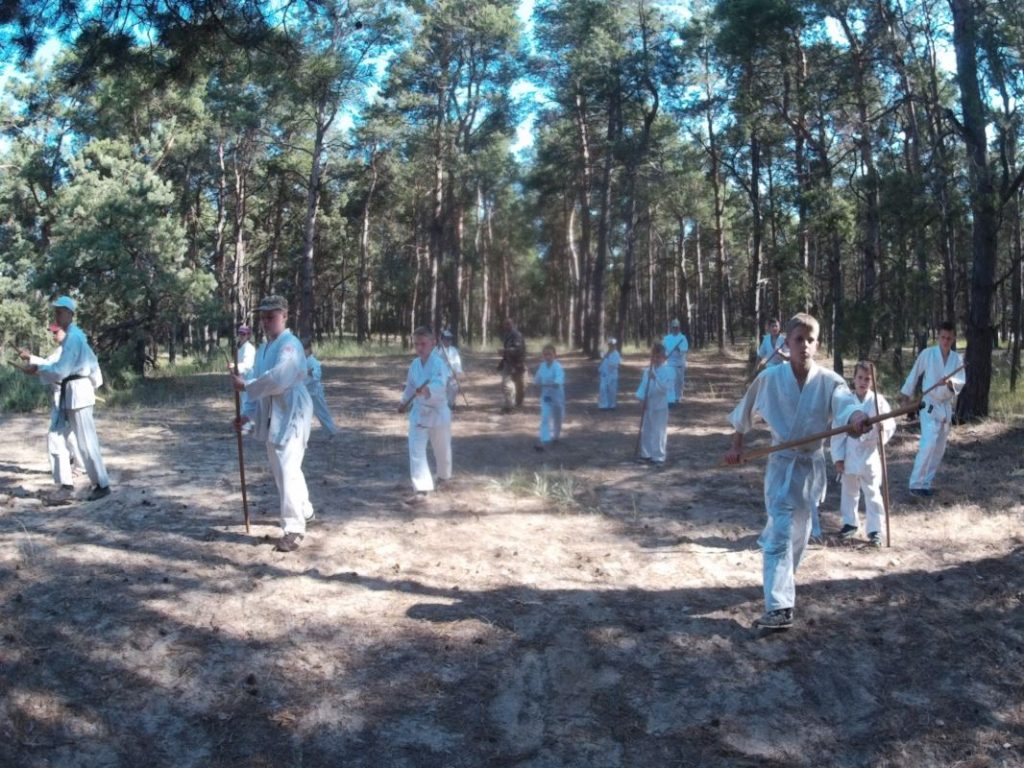 айкидо херсон, фехтование херсон, работа с оружием херсон, дзе херсон