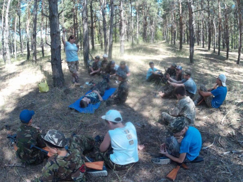 детский лагерь айкидо в херсоне, херсонская спарта, боевые искусства для детей