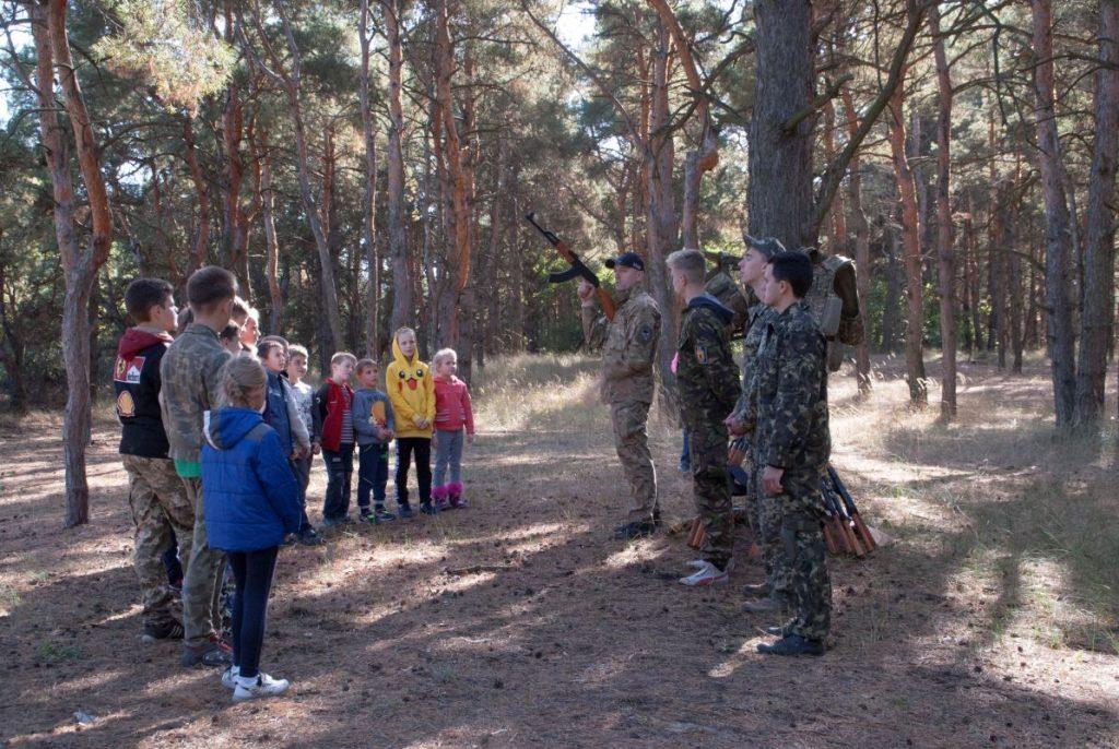начальная военная подготовка херсон, военно патриотический лагерь херсон