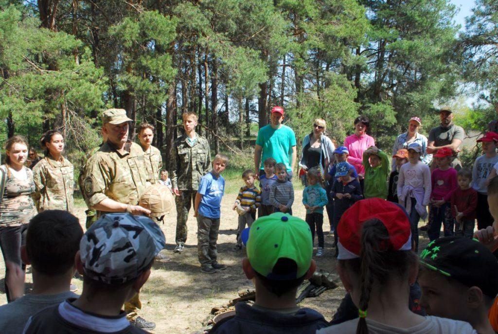 Начальная военная подготовка, Херсонская спарта, военно патриотический лагерь Херсон