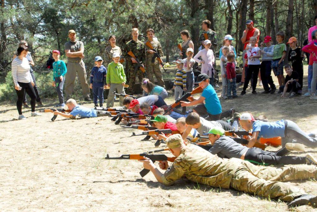 Херсонская спарта, военно патриотический лагерь Херсон,